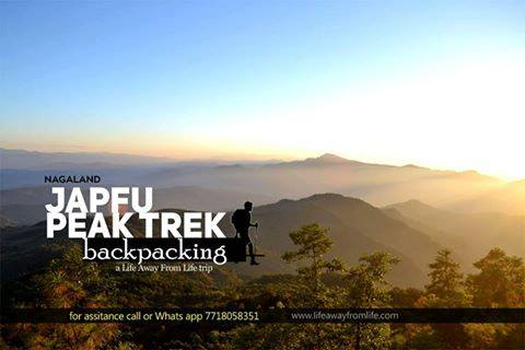 Japfu peak trek