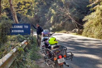 Motorcycle trip to Nagaland