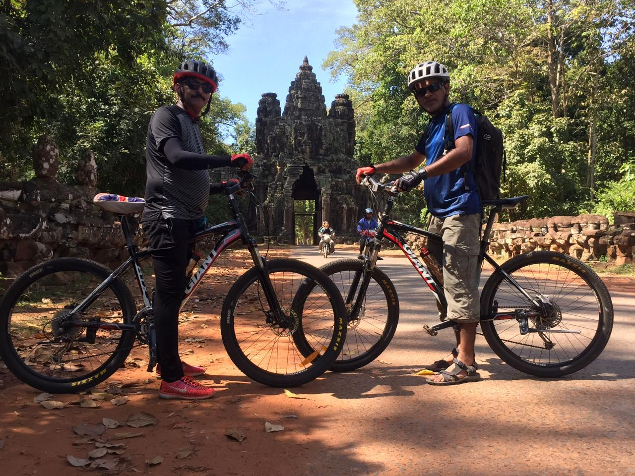 Vietnam to Cambodia Cycling Trip