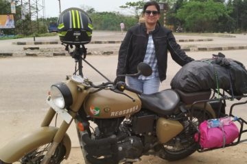 Bikaner motorcycle trip with Minakshi