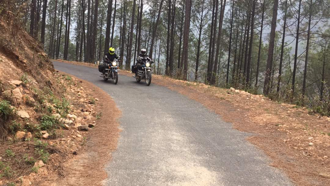 Kumaon motorcycling trip