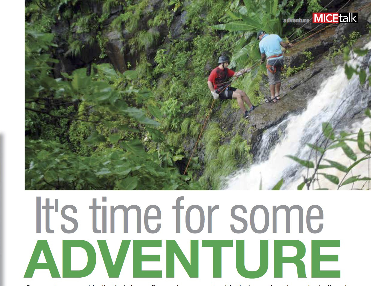 Its time for some Adventure – MiceTalk