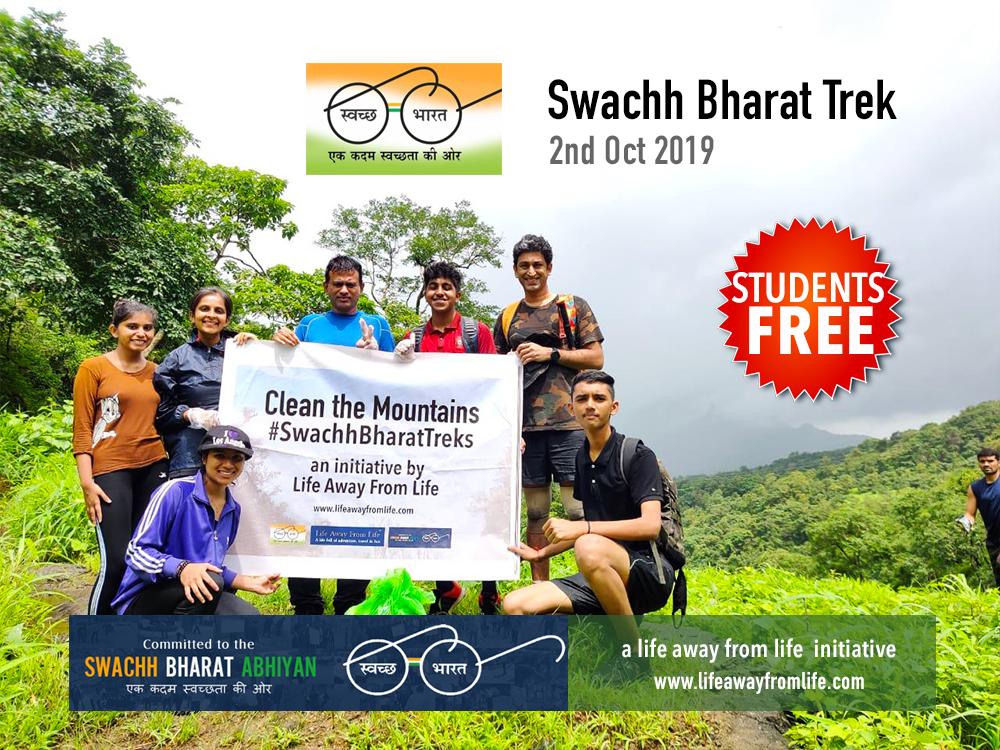 Swachh Bharat trek to Peb Fort