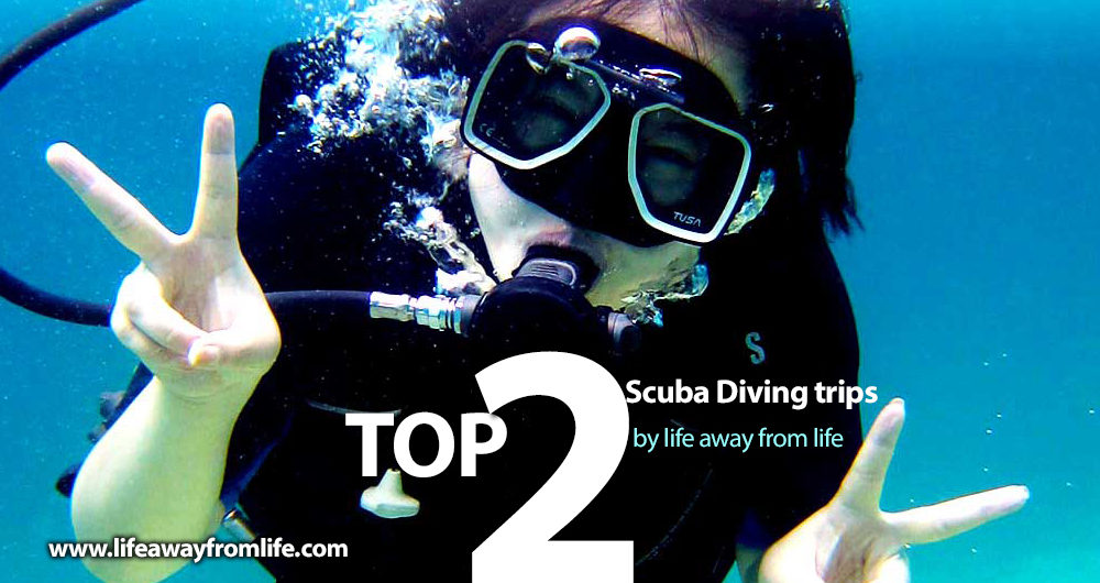 TOP 2 SCUBA DIVING