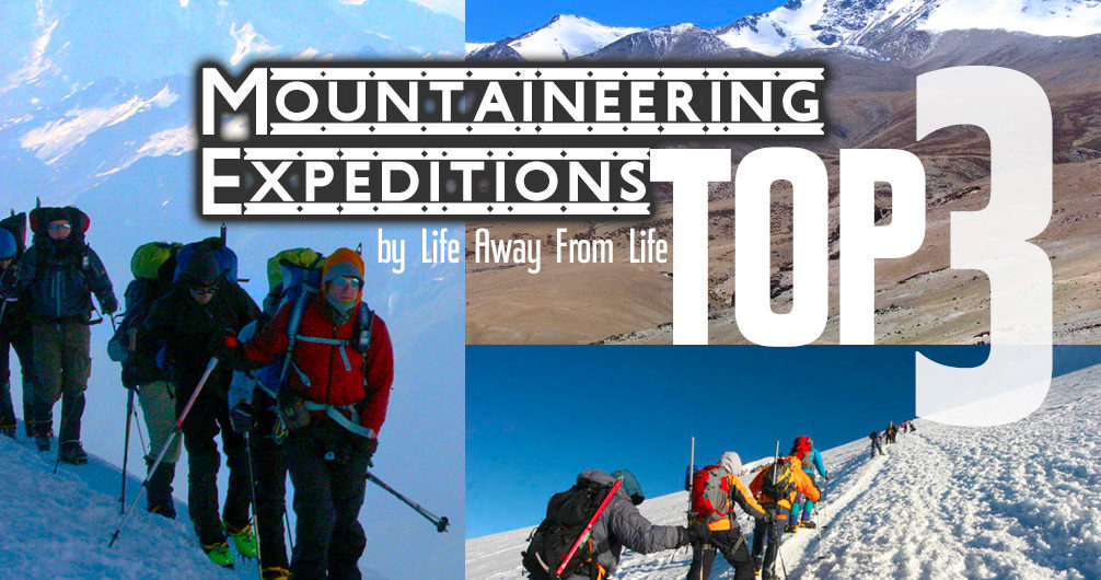 TOP 3 EXPEDITIONS