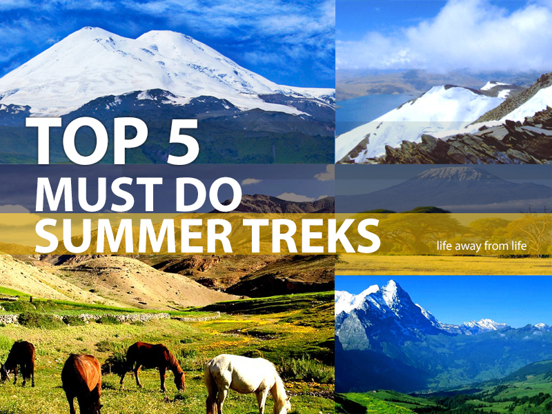 TOP 5 'Must-Do' summer treks  2018 by Life Away From Life