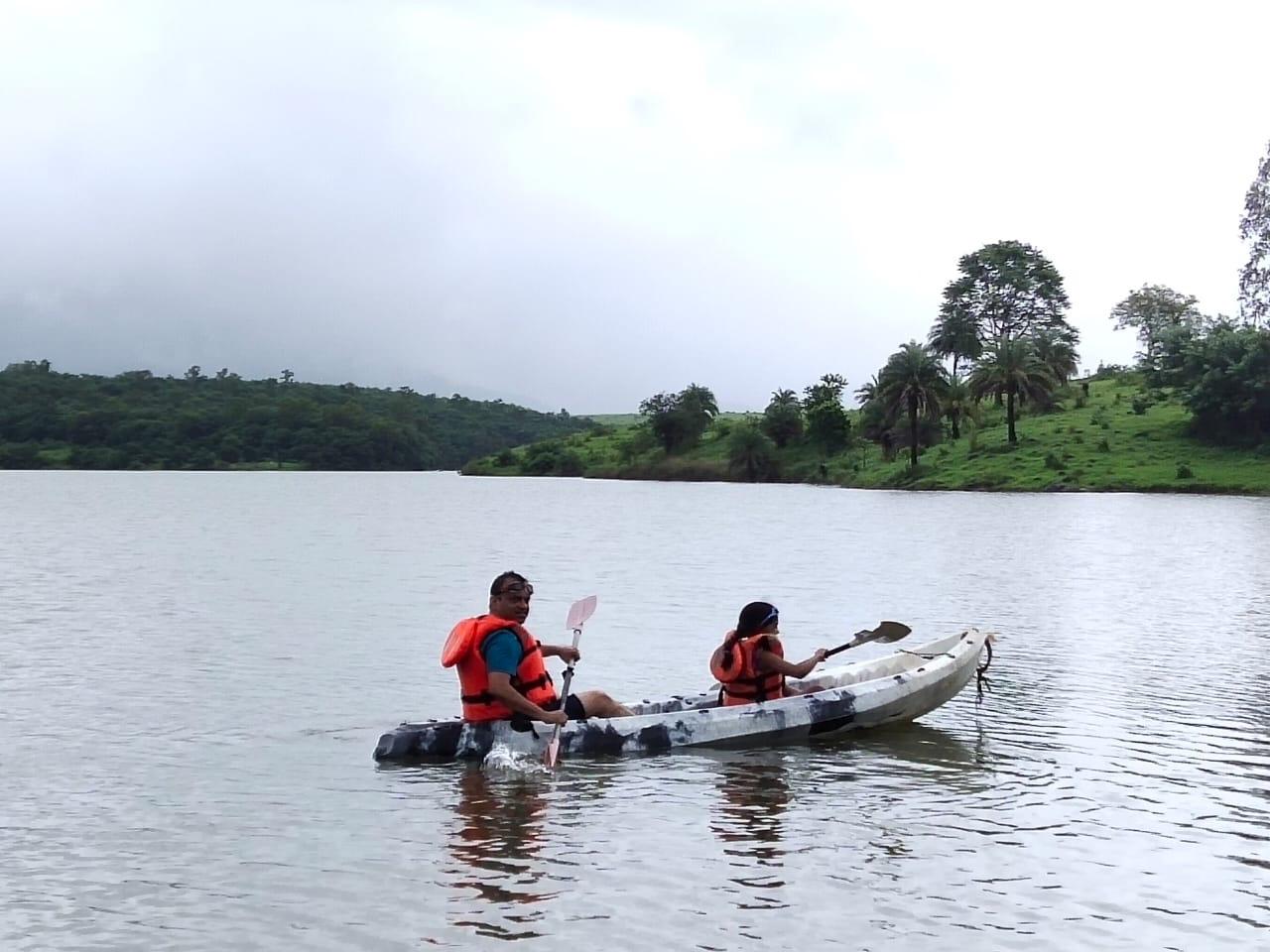 Kayaking trip near Mumbai