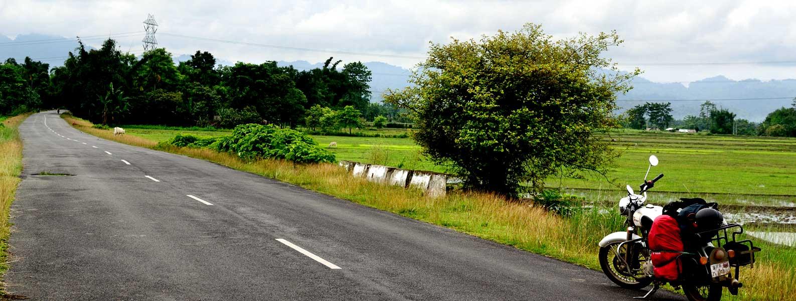 Motorcycle tour in Arunachal Pradesh