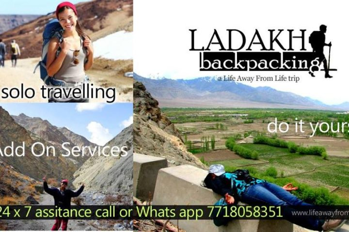 Ladakh Backpacking Trip