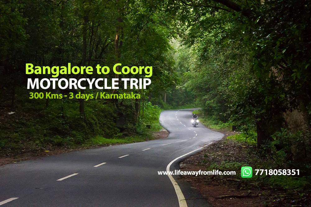Motorcycle trip to Coorg