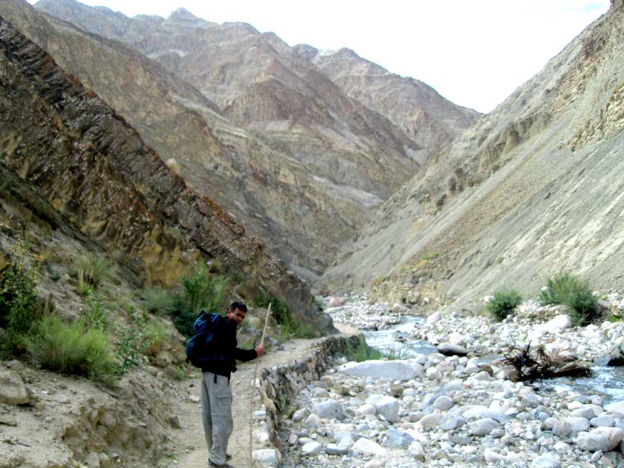 Summer Treks Ladakh backpacking trek