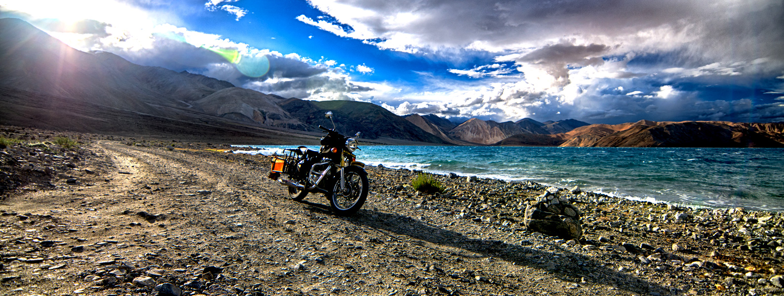 The Ladakh Motorcycle Tour ( Manali to Leh)