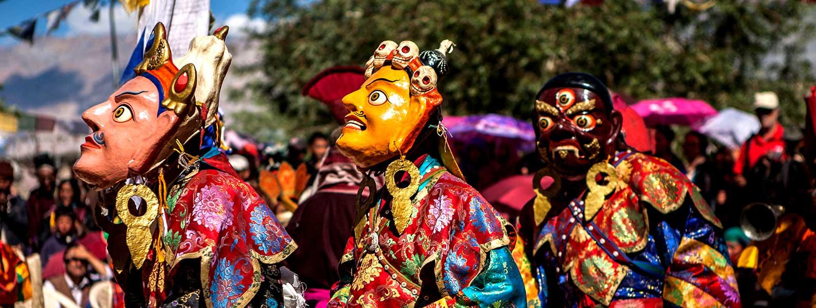Ladakh Monastic Festival Trip