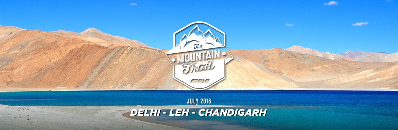 The Mahindra Mojo Mountain Trail experience