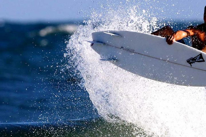 Surfboarding with lafl