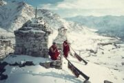 winter snow trek