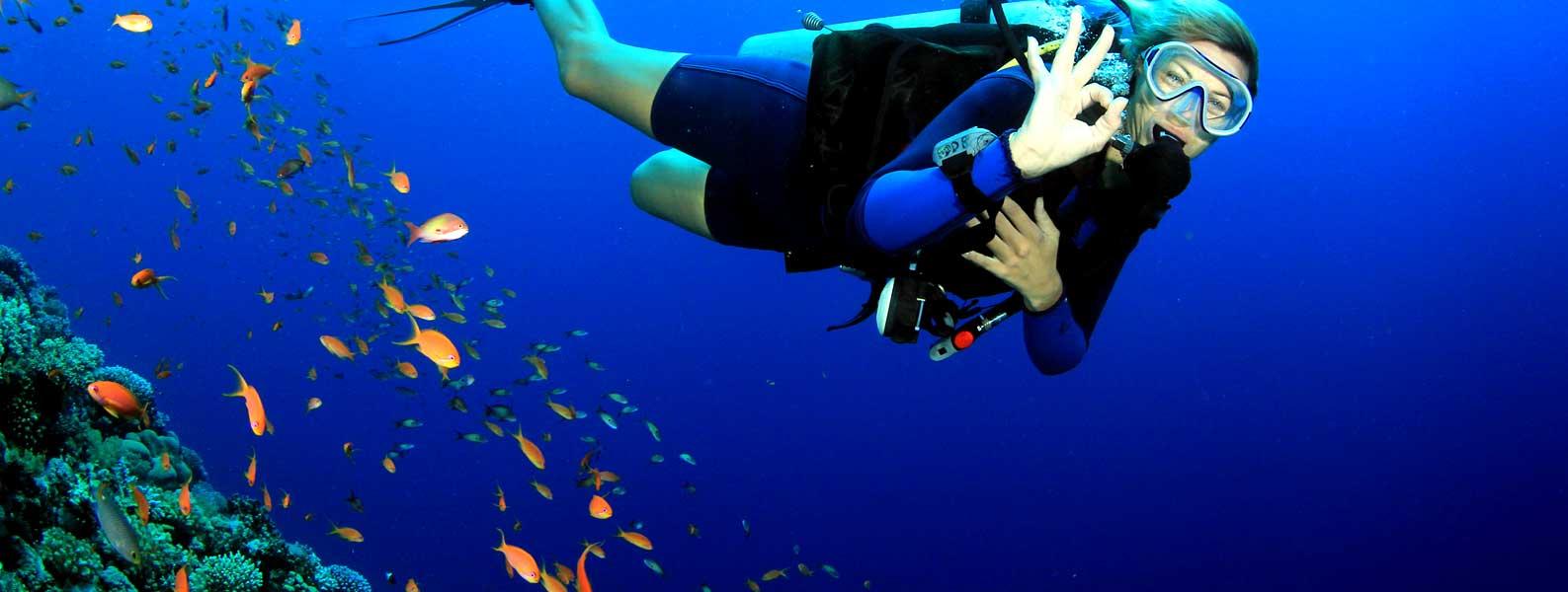 Scuba Diving at Zanzibar